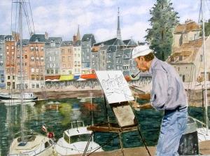 Honfleur - Le Pentre du Vieux
