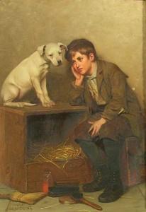 John George Brown - Sympathy