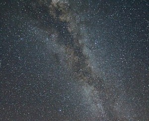 Milky Way Galaxy in Sky