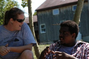 Conversation at Camp