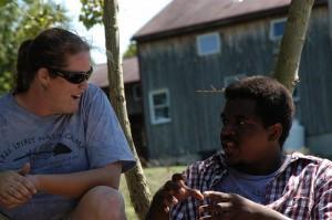 Conversation at Camp