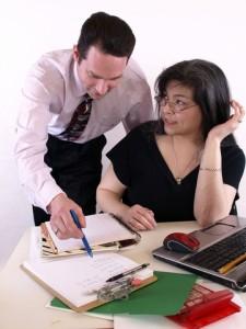 Employee with Supervisor