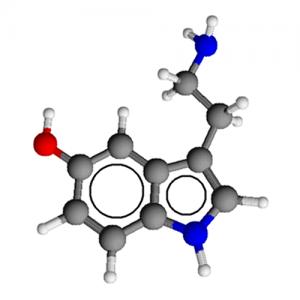 Serotonin 3D