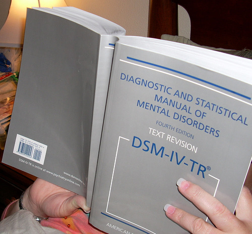 Sick Person Reading the DSM-IV