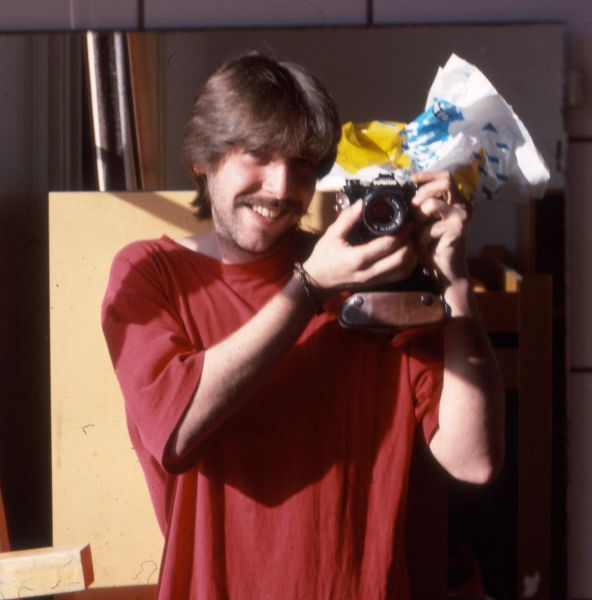 Michael Ligtenberg with Camera