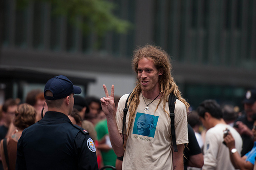 Peace Sign at G20