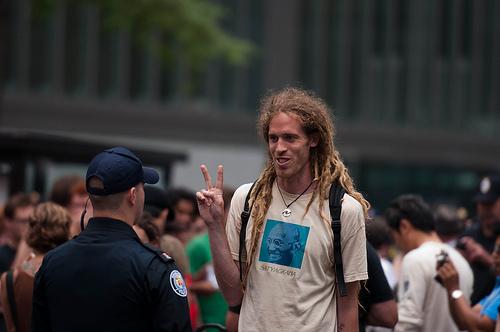Peace Sign at G20