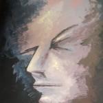 Acrylic on Canvas, Louise Ryan