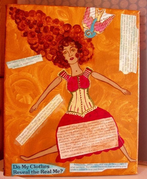 """Fun with Mixed Media"" by Kim Jones"